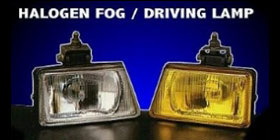 DJ404  HALOGEN FOG DRIVING LIGHT